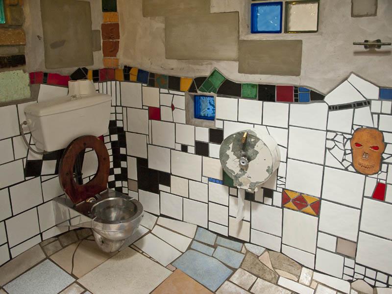 Hundertwasser Toilets