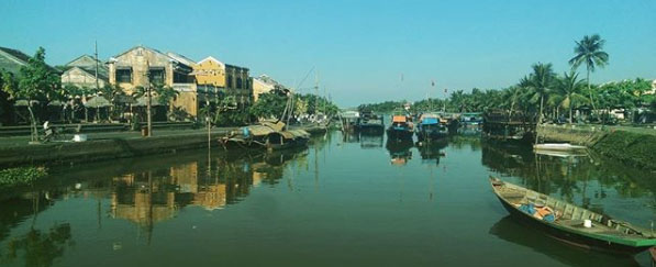 Hoi An Vietnam Panorama